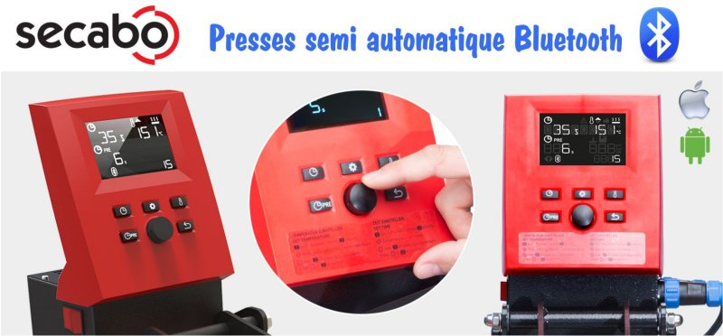 "Presses Secabo ""Smart"" Bluetooth"