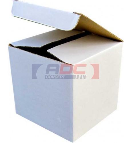 Boite cadeau blanche 10 x 10 x 10 cm pour mug