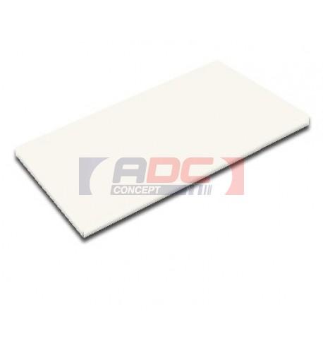 Carrelage blanc céramique rectangulaire 20 x 25 cm