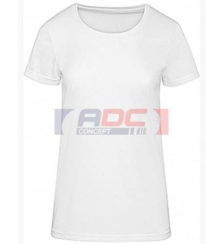 Tee-shirt femme blanc CGTW063 140 gr/m² pour sublimation XS à XXL (vendu à l'unité)