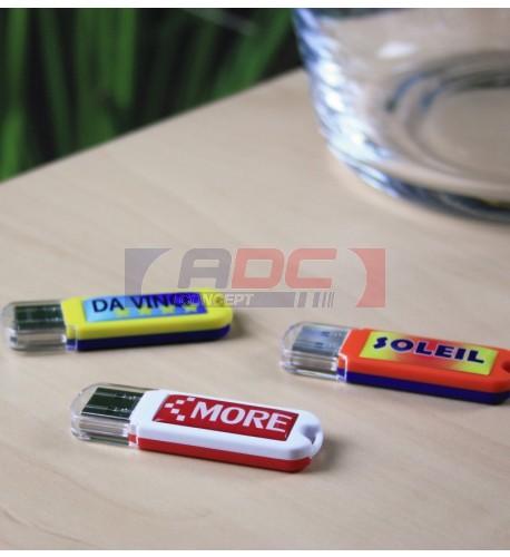 """Clé USB modèle """"Spectra"""" - Mémoire 16 Go"""