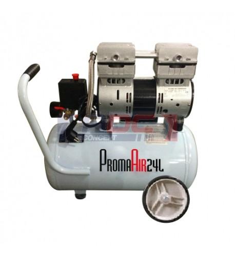 Compresseur insonorisé 24 litres 50 dbA