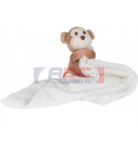 Doudou pour enfant singe 100% polyester Mumbles MM020