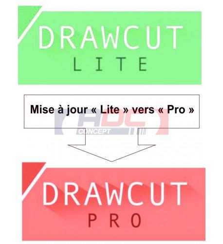 Mise à jour DrawCut Lite vers DrawCut Pro