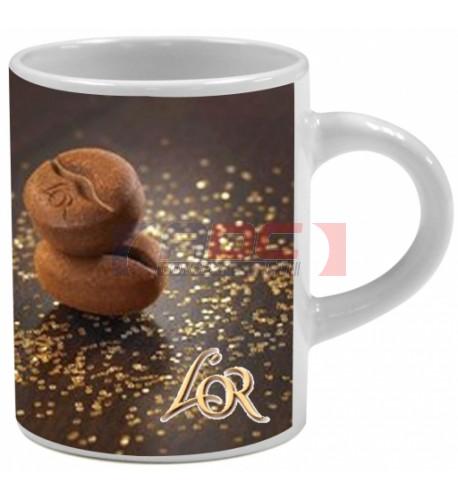 Mug expresso blanc H 6,6 cm - Ø 5,2 cm - Contenance 7,5 cl.