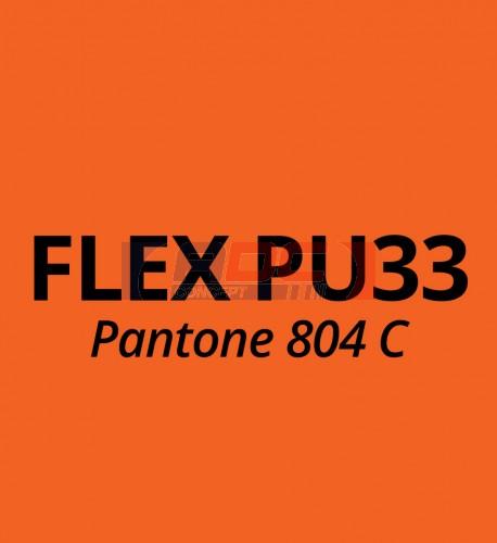 Vinyle thermocollant Flex Orange Fluo PU33