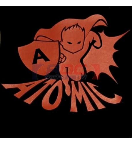 "PU FlexCut Atomic Rouge 02 ""Effet métallique irisé"""