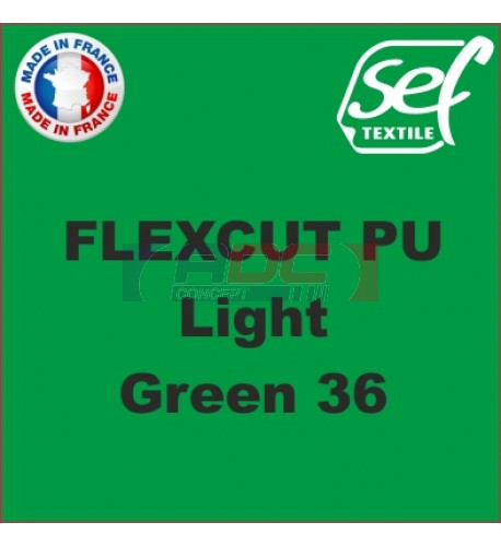 PU FlexCut Light Green 36