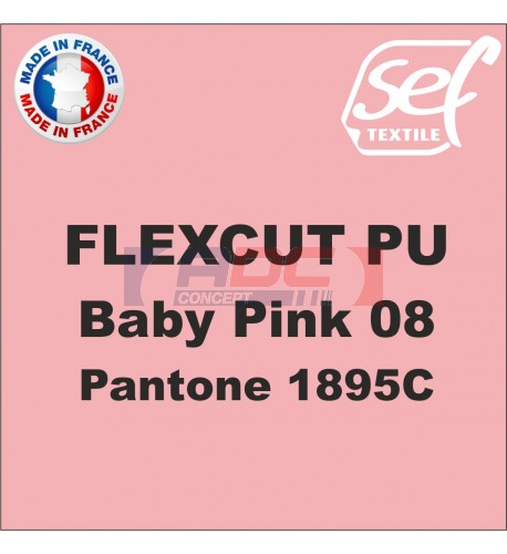 PU FlexCut Baby Pink 08