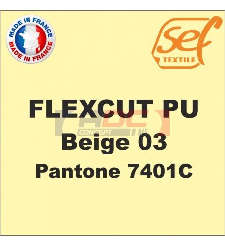 PU FlexCut Beige 03