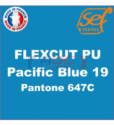 PU FlexCut Pacific Blue 19