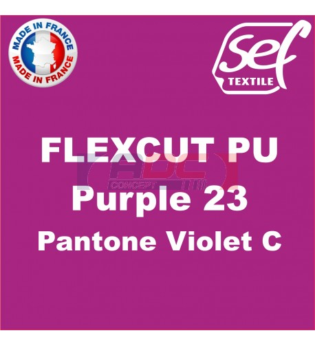 PU FlexCut Purple 23