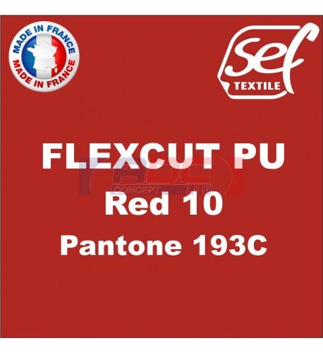 PU FlexCut Red 10