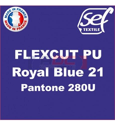 PU FlexCut Royal Blue 21