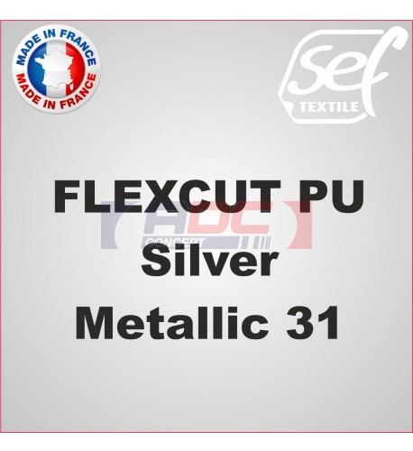 PU FlexCut Silver Metallic 31