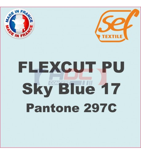 PU FlexCut Sky Blue 17
