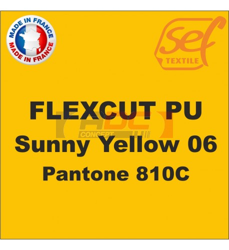 PU FlexCut Sunny Yellow 06