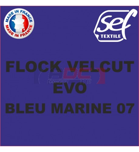 Flock VelCut Evo Bleu Marine 07