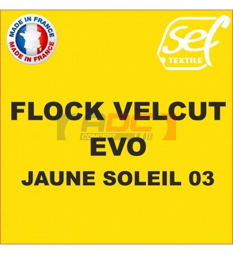 Flock VelCut Evo Jaune Soleil 03
