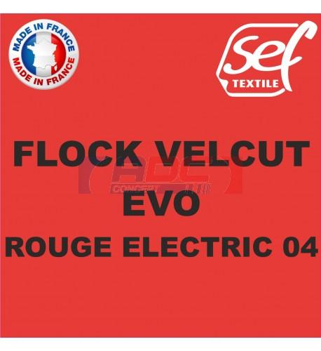Flock VelCut Evo Rouge Electric 04