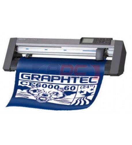 Plotter de découpe Graphtec CE6000-60E PLUS (sans pieds) avec logiciel Pro Studio et Plug-in Cutting Master 4 pour Illustrator (PC & MAC) et Corel Draw