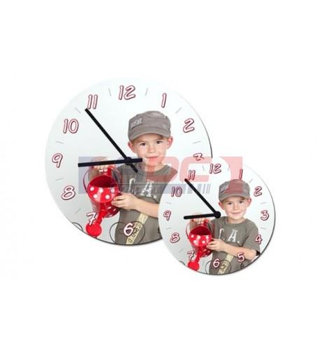 Horloge MDF ronde murale
