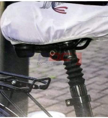 Housse de selle de vélo sublimable 24,5 x 22,5 cm