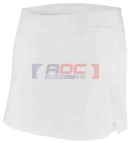 Jupe tennis blanche enfant 100% polyester interlock ProAct PA166