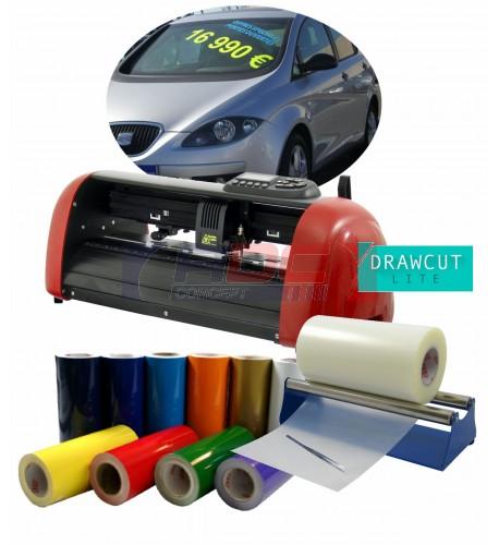 Kit Garage pour toute la signalétique adhésive