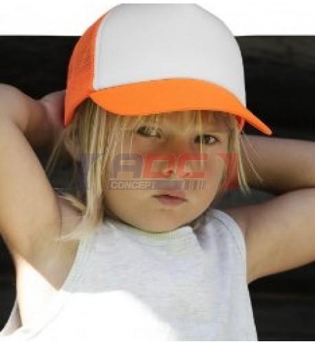 Casquette Trucker enfant 100% polyester KP143 - 8 coloris (vendu à l'unité)