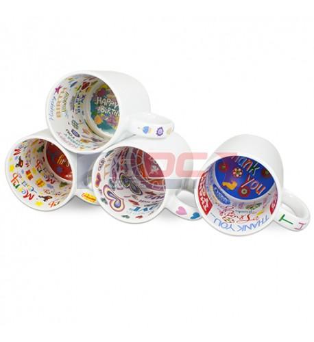 Mug à thème Happy Birthday céramique traité 100% polyester