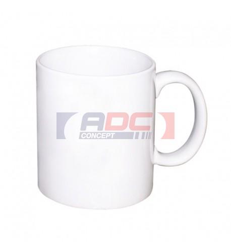 Mug blanc standard, 11oz, qualité B (sur devis uniquement)