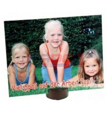 Panneau photo en fibre dure épaisseur 152 x 152 x 6 mm