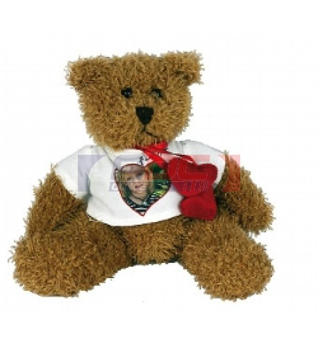 Peluche ours Hardy H 20 cm