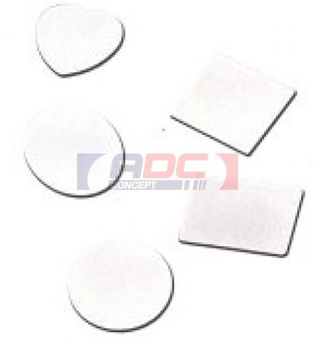 Plaque aluminium pour pince à billets