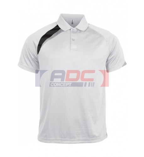 Polo sport manches courtes polyester PROACT PA457