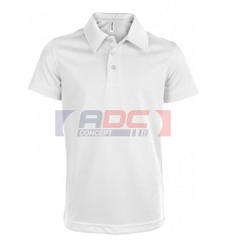 Polo sport pour enfant 100% polyester PROACT PA484