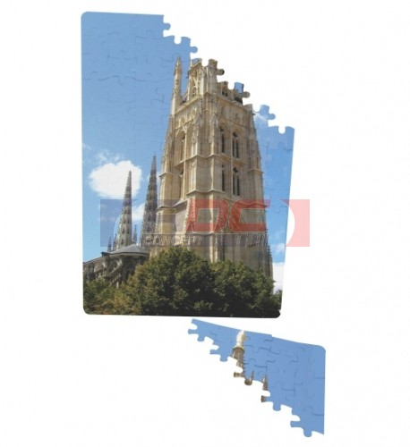 Puzzle magnétique pour sublimation format A4 120 pièces