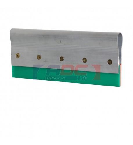 Racle à lame mixte en aluminium montée