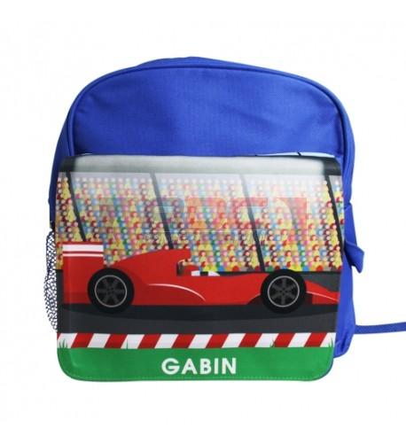 Sac à dos coloris bleu pour enfant avec rabat détachable (vendu à l'unité)