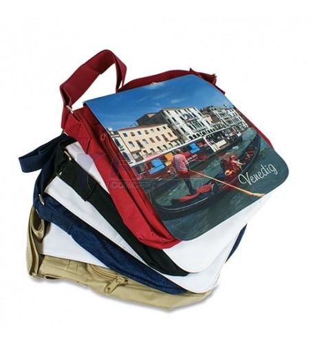 Grand sac à bandoulière couleur VENISE 270 x 270 x 80 mm  avec rabat interchangeable (vendu à l'unité)
