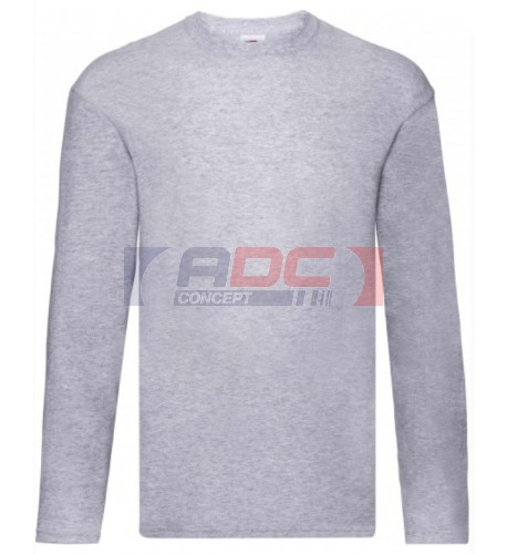 Tee-shirt manches longues original-T 100% coton S à 5XL - 7 coloris