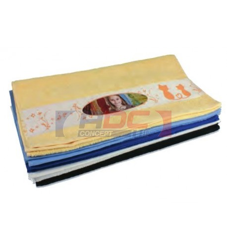 Serviette en coton 400 gr/m² 50 x 100 cm