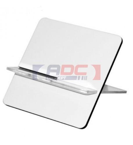 Support pour cartes de visite en MDF / plastique transparent 100 x 100 x 80 mm