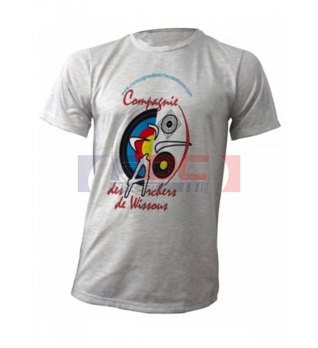 Tee-shirt Ash Gris