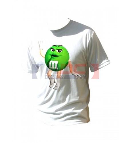 Tee-shirt enfant toucher coton 100% polyester