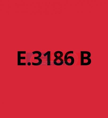 E3186B Rouge Foncé brillant - Vinyle adhésif Ecotac - Durabilité jusqu'à 6 ans