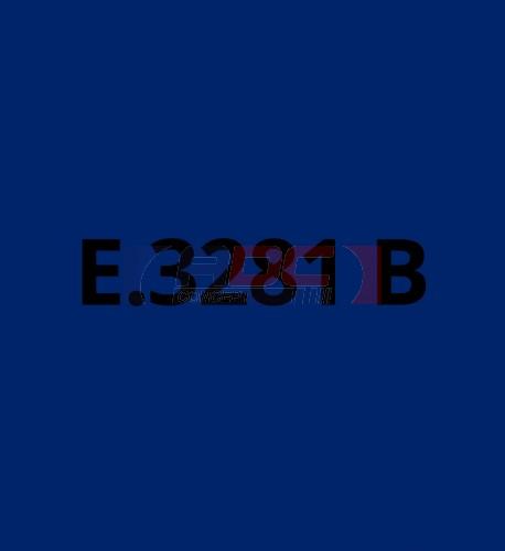 E3281B Bleu Marine brillant - Vinyle adhésif Ecotac - Durabilité jusqu'à 6 ans