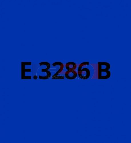 E3286B Bleu Foncé brillant - Vinyle adhésif Ecotac - Durabilité jusqu'à 6 ans