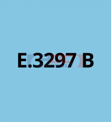 E3297B Bleu Clair brillant - Vinyle adhésif Ecotac - Durabilité jusqu'à 6 ans
